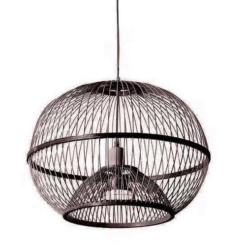Ceiling Light Pendant Lighting Bamboo Lampshade Handmade - Lucas