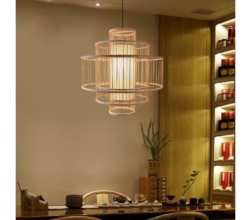 Ceiling Light Pendant Lighting Bamboo Handmade - Leona