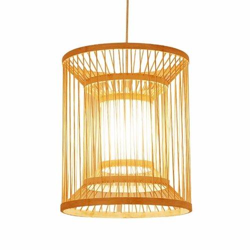 Ceiling Light Pendant Lighting Bamboo Lampshade Handmade - Alice