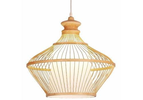 Fine Asianliving Deckenleuchte Pendelleuchte Beleuchtung Bambus Lampenschirm Handgefertigt - Ophelia