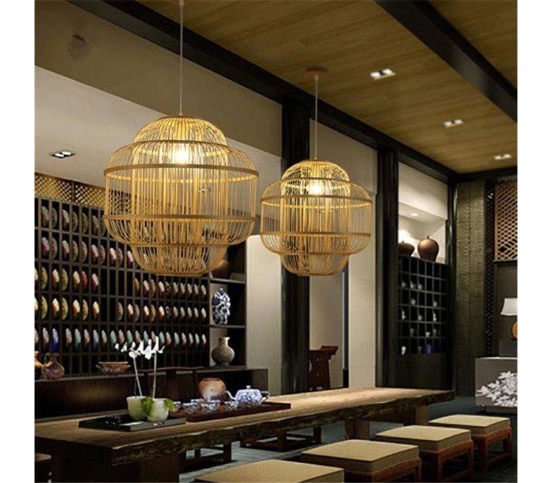 Fine Asianliving Bamboe Hanglamp Handgemaakt - Evon