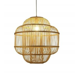 Fine Asianliving Fine Asianliving Ceiling Light Pendant Lighting Bamboo Lampshade Handmade - Evon
