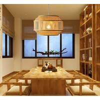Plafonnier Luminaire Luminaire Abat-Jour Bambou Fait Main - Carina