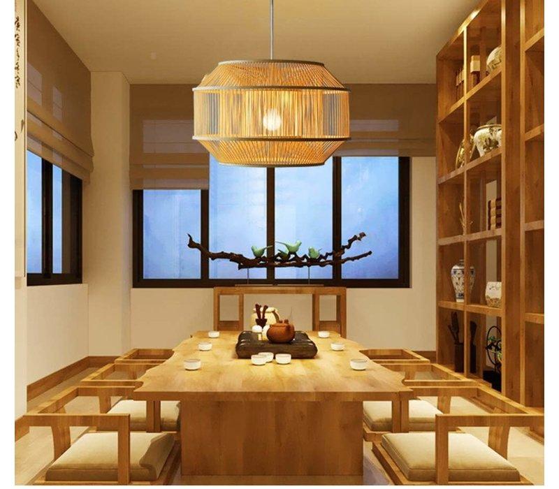 Fine Asianliving Lampara de techo Bambú Lampara Colgante Hecho a mano - Carina