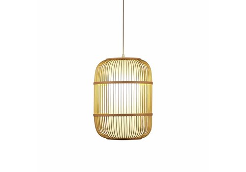 "Fine Asianliving Ceiling Light Pendant Lighting Bamboo Lampshade Handmade - ""Dior"""