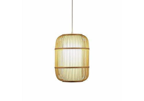 Fine Asianliving Deckenleuchte Pendelleuchte Beleuchtung Bambus Lampenschirm Handgefertigt - Dior