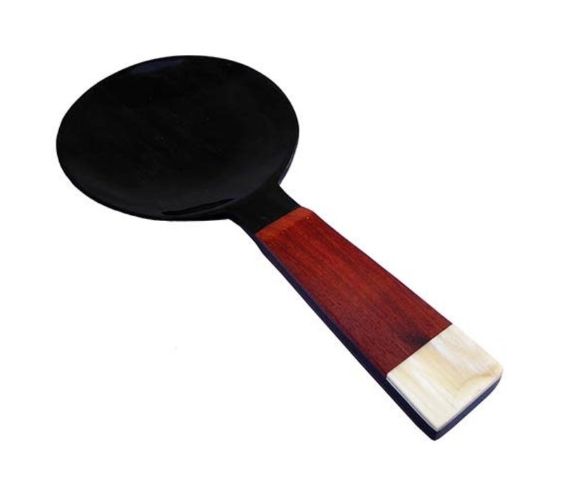 Fine Asianliving Buffalo Horn and Rosewood Rice spatula