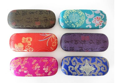 Fine Asianliving Fine Asianliving Chinese Glasses Case (Random Colour)