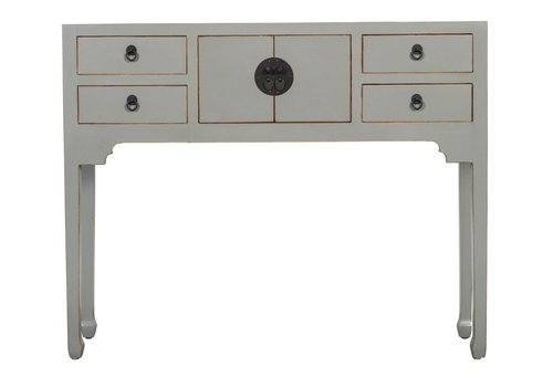 Fine Asianliving Chinese Console Table Hallway Table Sidetable W100xD26xH80cm Grey