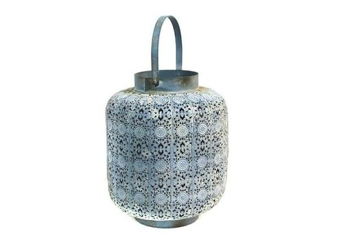 Fine Asianliving Blue wind light White pattern L
