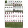 Fine Asianliving Mahjong Set Spel 40cm XXL Kunststof 148 Stenen