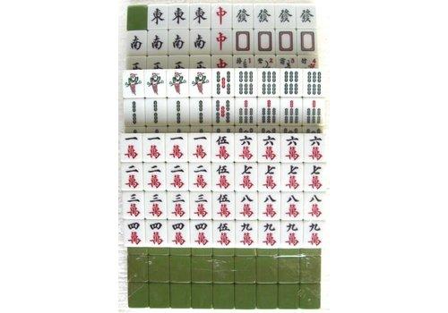 Fine Asianliving Mahjong Game Set 40cm XXL 148 Acrylic Tiles