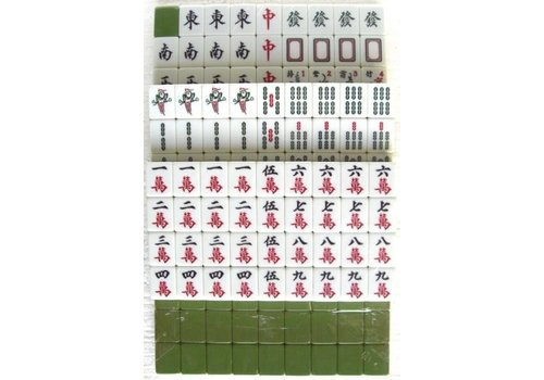 Fine Asianliving Mahjong Game without Fiches