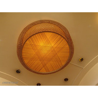 Fine Asianliving Bamboo Hanging Lamp Handmade Lucy
