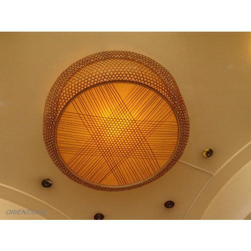 Bamboo Hanging Lamp Handmade Lucy