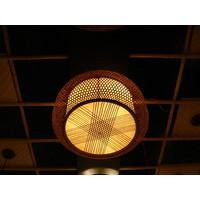 Lampe suspendue en bambou à la main Lucy