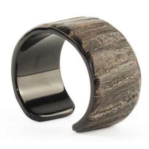 Armband Raw Buffelhoorn Handmade Vietnam