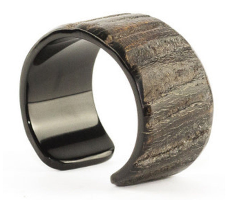 Luxe Armband Raw Buffelhoorn Handgemaakt Vietnam