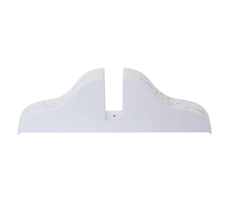 Raumteiler Trennwand Halter Ständ Weiß