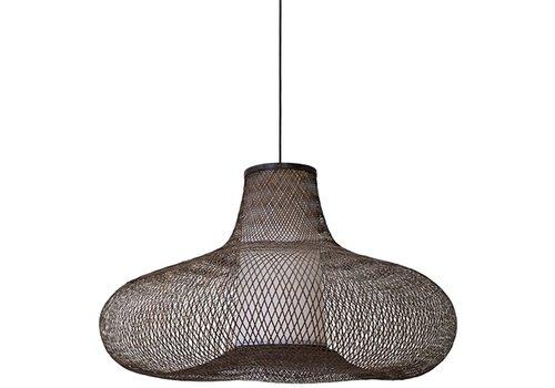 Fine Asianliving Lampe suspendue en bambou