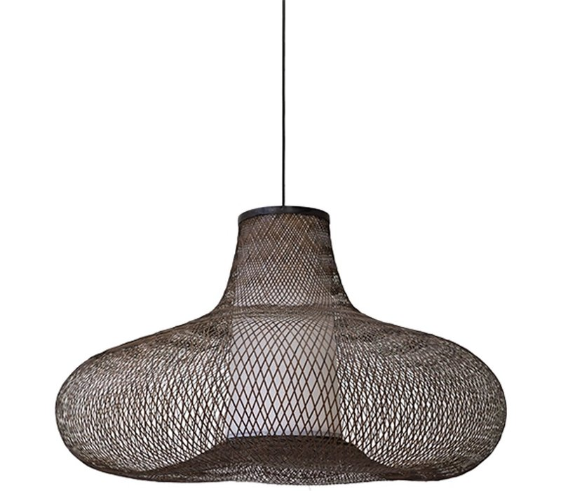 Lampe suspendue en bambou