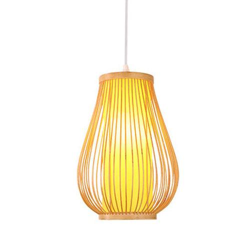Ceiling Light Pendant Lighting Bamboo Lampshade Handmade - Bella
