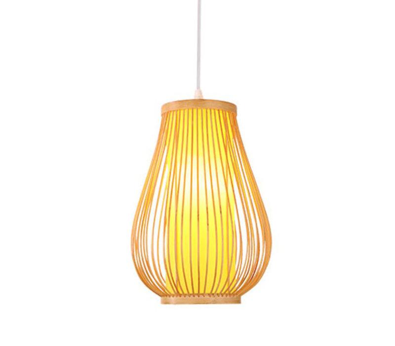 Lámpara de Techo Colgante de Bambú Hecha a Mano - Bella