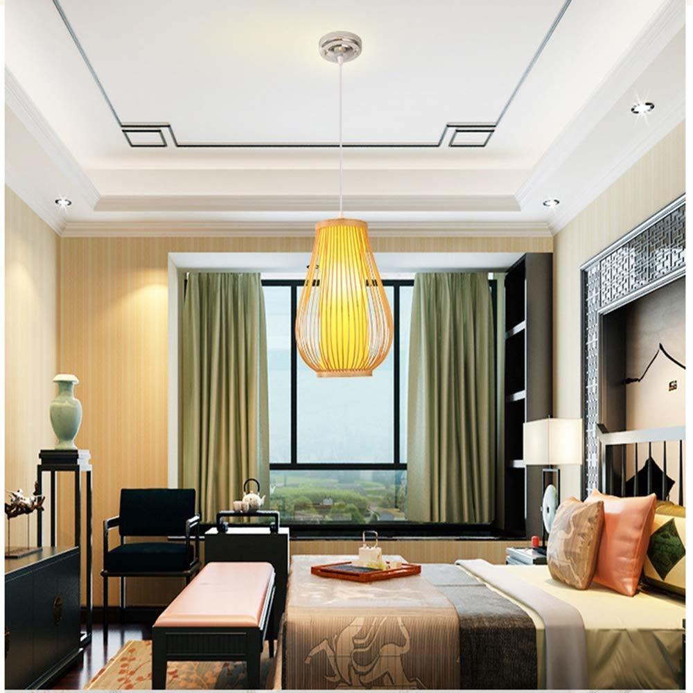 Ceiling Light Bamboo Lampshade Handmade