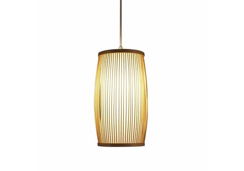 Fine Asianliving Ceiling Light Pendant Lighting Bamboo Lampshade Handmade - Elise