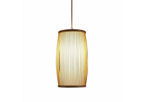 Fine Asianliving Plafonnier Luminaire Suspendu Bambou Abat-Jour Fait Main - Elise