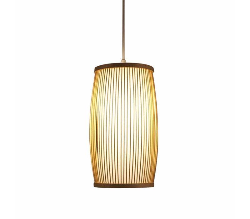Fine Asianliving Deckenleuchte Pendelleuchte Beleuchtung Bambus Lampenschirm Handgefertigt - Elise