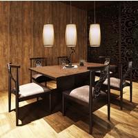 Fine Asianliving Ceiling Light Pendant Lighting Bamboo Lampshade Handmade - Elise