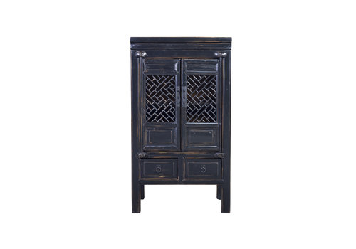 Fine Asianliving Fine Asianliving Chinese Cabinet Handcrafted Black
