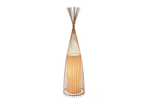 Fine Asianliving Bamboo Braided Floor Lamp - Nora
