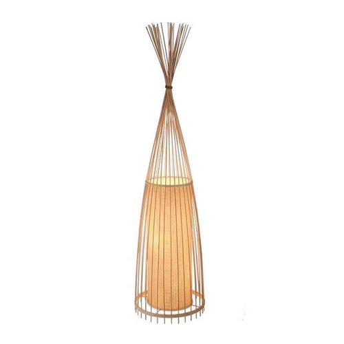 Fine Asianliving Bambus Stehlampe Handgefertigt - Nora