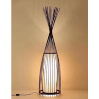 Fine Asianliving Bamboo Floor Standing Lamp - James