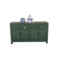 Antique Chinese Sideboard Hand Painted Mint