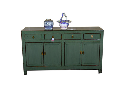 Fine Asianliving [PREORDER WEEK48] Antique Chinese Sideboard Hand Painted Mint