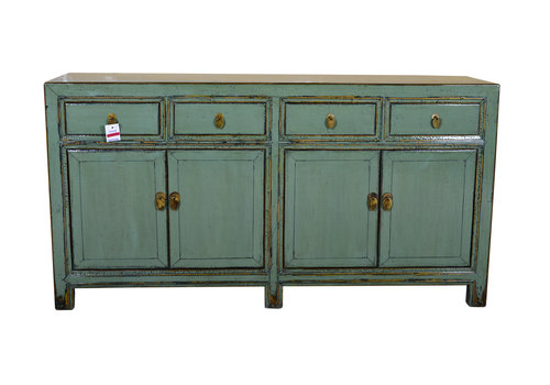 Fine Asianliving [PREORDER WEEK 48] Antique Chinese Sideboard Hand Painted Mint - Yunnan