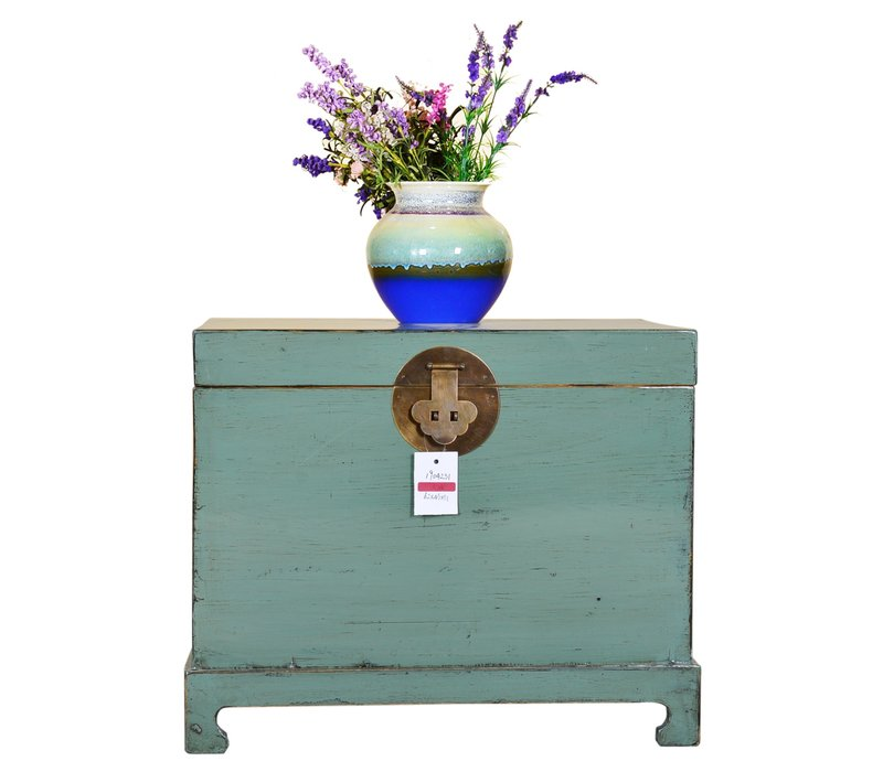 [PREORDER WEEK48] Designed Chinese Storage Chest Hand Painted Mint