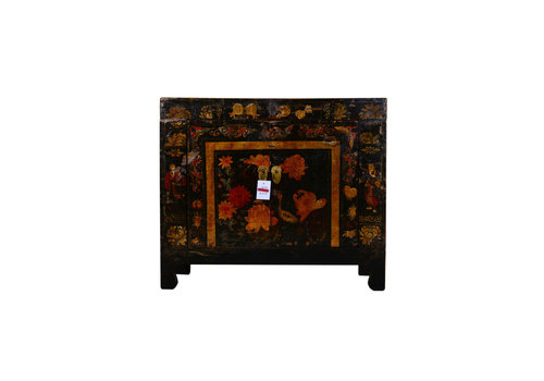 Fine Asianliving Antieke Chinese Kast Handgetekend - Hanjiang