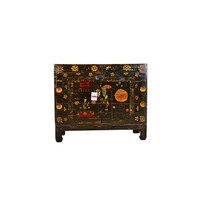 Antique Chinese Sideboard Handpainted - Fujian