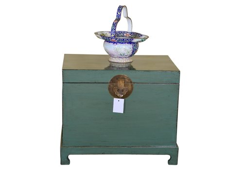 Fine Asianliving [PREORDER WEEK48] Antique Traditional Chinese Storage Chest Mint - Shanxi