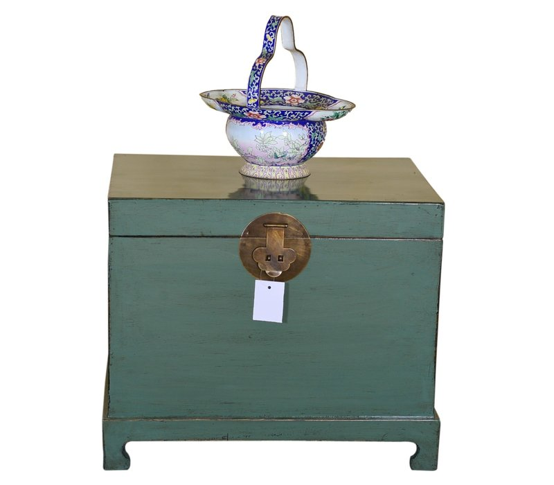 Meuble de Rangement Chinois Traditionnel Antique Menthe - Shanxi