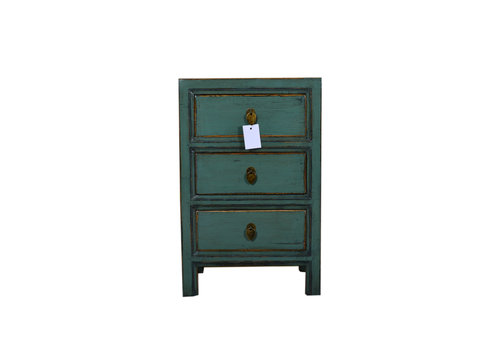 Fine Asianliving [PREORDER WEEK 48] Designed Small Cabinet Chinese Teal - Dali