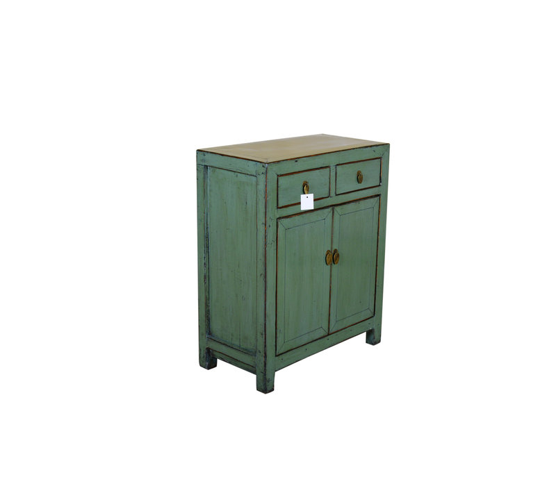 [PREORDER WEEK 48] Antique Chinese Small Sideboard Hand Painted Mint - Xi'an