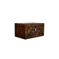[PREORDER WEEK 48] Traditional Tibetan Storage Chest Handmade - Asian Dragon