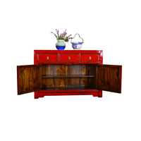 Antiek Chinees Dressoir Glamour Red - Shanxi