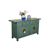 [PREORDER WEEK 48] Antique Asian Sideboard Hand Painted Mint - Yangshuo
