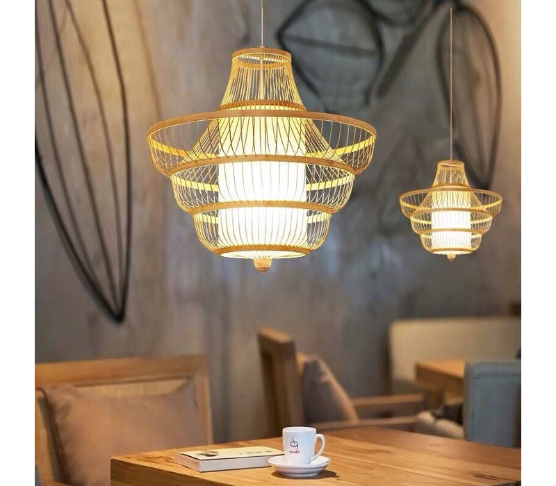 Bamboe Hanglamp Handgemaakt - Jayla